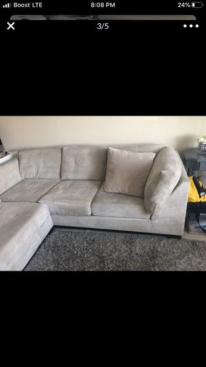 L section sofa from Macy for Sale in Dublin, CA