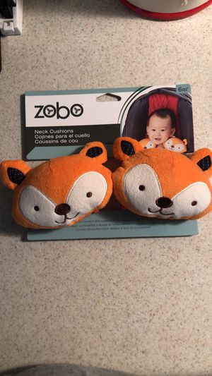 Fox 🦊 baby car seat strap cushions for Sale in Thomasville, NC