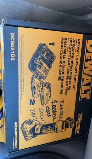 DeWalt Drywall Cut Out Tool Kit BRAND NEW for Sale in Mesa, AZ