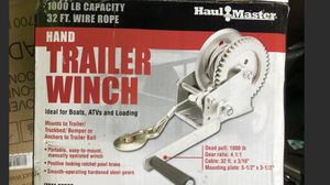Trailer winch for Sale in Saint James, NY