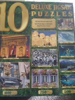 10 puzzle + 24 game lot for Sale in San Angelo, TX