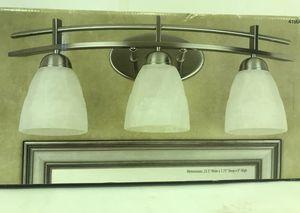 New Energy Saving Vanity Light Fixtures- Sliver 3 Light Bar for Sale in Decatur, GA