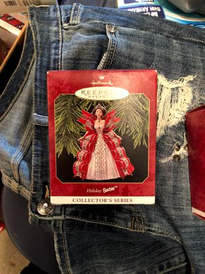 holiday barbie keepsake collectors ornament for Sale in Wadsworth, OH