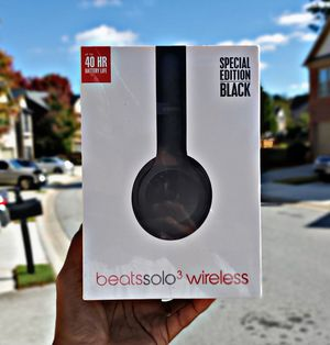 Beats Solo³ Wireless (Matte Black) for Sale in Atlanta, GA