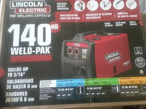 Lincoln Electric Welding Machine 140 PAK for Sale in North Miami Beach, FL