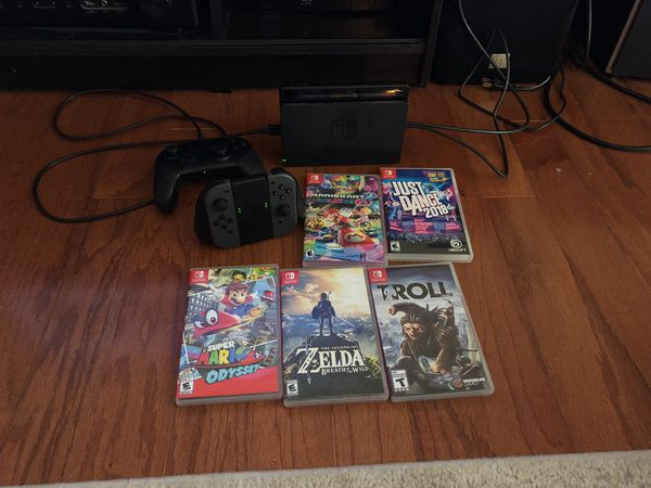 Nintendo Switch + Games