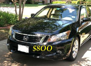 ✅✅👉💲8OO URGENT I sell my family car 🔥🔥2OO9 Honda Accord Sedan V6 EX-L power start Runs and drives very smooth.🟢🟢 for Sale in Long Beach, CA