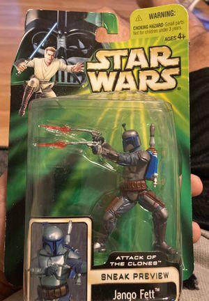 Star Wars Jango Fett Attack of the clones Sneak preview for Sale in Acworth, GA