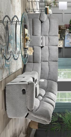 [SPECIAL] Mula Gray Reclining Sectional for Sale in Austin, TX