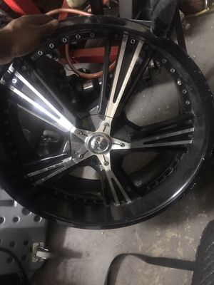 22inch rims came off impala 5 lug for Sale in Jacksonville, FL