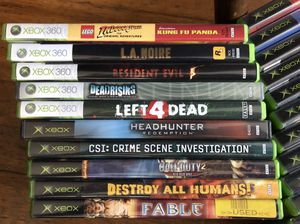 Xbox 360 Video Games for Sale in Houston, TX