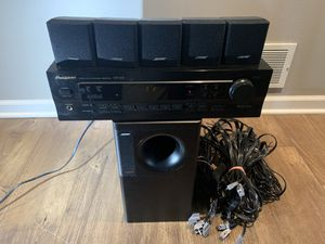 Bose Acoustimass 6 Series ii & Pioneer VSX-108 used for Sale in Carol Stream, IL