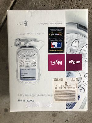 MyFi Personal XM Radio for Sale in Barberton, OH