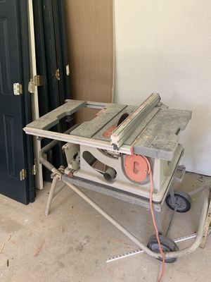 RIDGIT TABLE SAW - as is for Sale in Charlotte, NC