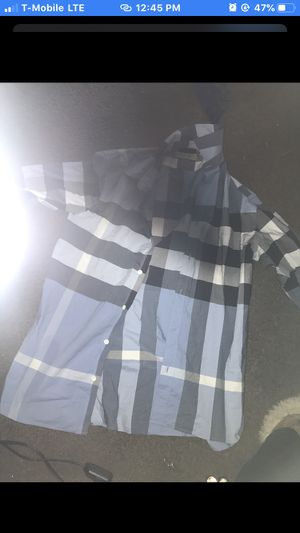 Authentic Burberry Shirt Size is Largr for Sale in Columbus, OH