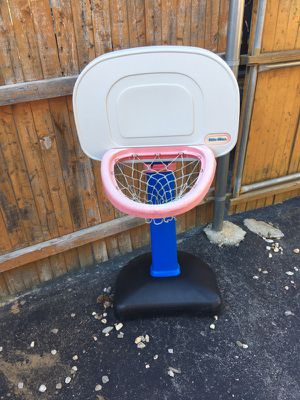 Little tikes basketball hoop for Sale in Worcester, MA