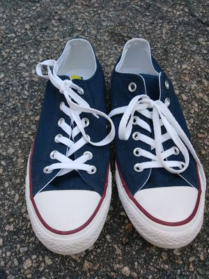 Navy blue all star converse size 7 mens and 9 womens for Sale in Raleigh, NC