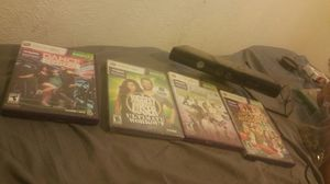 Xbox Kinect and games 30 obo for Sale in Sanger, CA