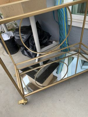 Rolling mirror cart for Sale in Los Angeles, CA