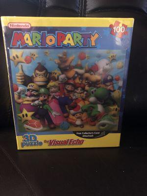 Mario Party Puzzle 3D Lenticular 2006 Visual Echo Luigi Yoshi Bowser Donkey Kong for Sale in Hayward, CA