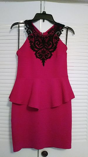 Hot pink and black dress for Sale in Rockledge, FL