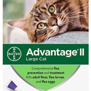 6 Doses - New - Advantage II topical flea treatment for Sale in Chicago, IL