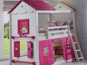 Twin over twin bunk bed for Sale in Fort Worth, TX