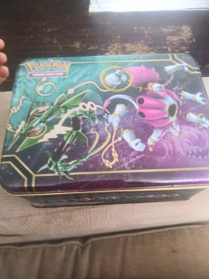 Pokemon lunch box/ collectors tin for Sale in El Cajon, CA