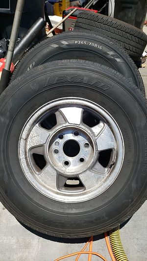 Gm chevy rims for Sale in Anaheim, CA