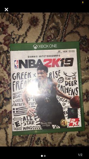 NBA 2K 19 for Sale in Fredericksburg, VA