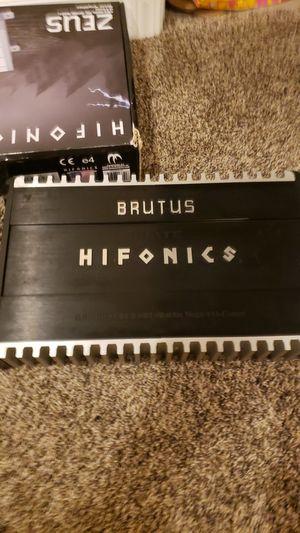 Hifonics Brutus Elite for Sale in Romeoville, IL