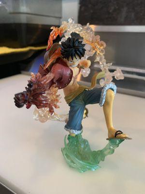 One Piece FuguartsZERO Monkey D. Luffy (Battle Version) Red Hawk for Sale in Silver Spring, MD