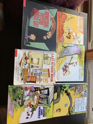 Six classic Calvin and Hobbes books for Sale in Poway, CA