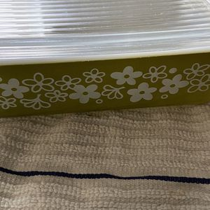 Vintage Pyrex 503 Crazy Daisy Refrigerator Dish With Lid for Sale in Modesto, CA