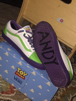 Old school toy story vans size 9.5 for Sale in Falls Church, VA