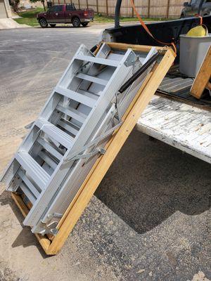 Attic Aluminum ladder for Sale in San Antonio, TX