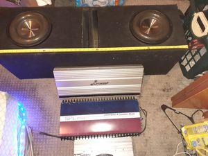 Subwoofers amps for Sale in Bridgeton, NJ