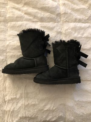 Black Ugg Bailey Bow Toddler sz 10 for Sale in Los Angeles, CA