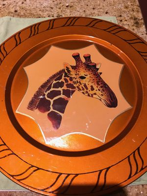 Home Decor Safari Plates for Sale in Chesapeake, VA