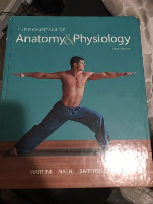 Anatomy and physiology book for Sale in Nashville, TN