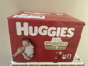 huggies newborn ; never been opened for Sale in Killeen, TX