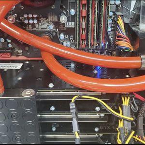 Fast Gaming Computer Sli Triple Gpu Card, Core i7 for Sale in Houston, TX