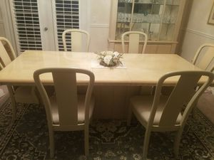 Dining room table, chairs and china cabinet for Sale in Odessa, FL