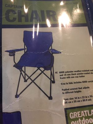 OUTDOOR SEATING CAPTAIN CHAIR for Sale in San Jose, CA