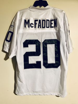New no tags Raiders on Field Reebok Darren McFadden Jersey Size 48 XL New no tags for Sale in Los Angeles, CA
