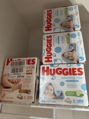 Huggies baby Wipes for Sale in Tampa, FL