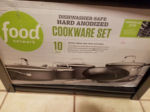 Food Network Anodized 10pc Set for Sale in Lancaster, CA
