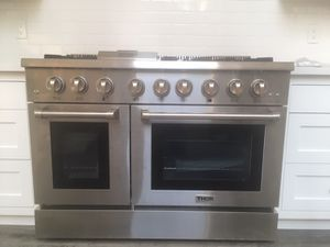 "Thor Professional Appliance Kitchen Set- 48"" Range and Hood, Refrigerator, Dishwasher for Sale in Los Angeles, CA"