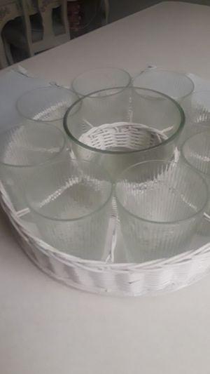 10 piece glass set for Sale in Las Vegas, NV