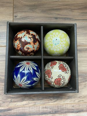 FREE HD Design Glass Decorate Balls for Sale in Vancouver, WA